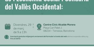 V Taula Territorial de l'Economia Social i Solidària del Vallès Occidental: Balanç Social