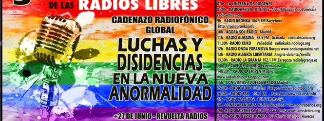 3er Cadenazo de las radios libres:Luchas y disidencias en la nueva anormalidad